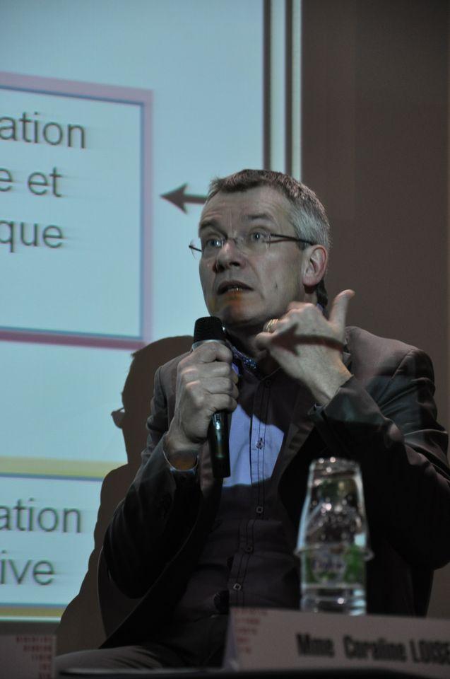 Didier Paquelin, professeur des universités en sciences de l'information et de la communication