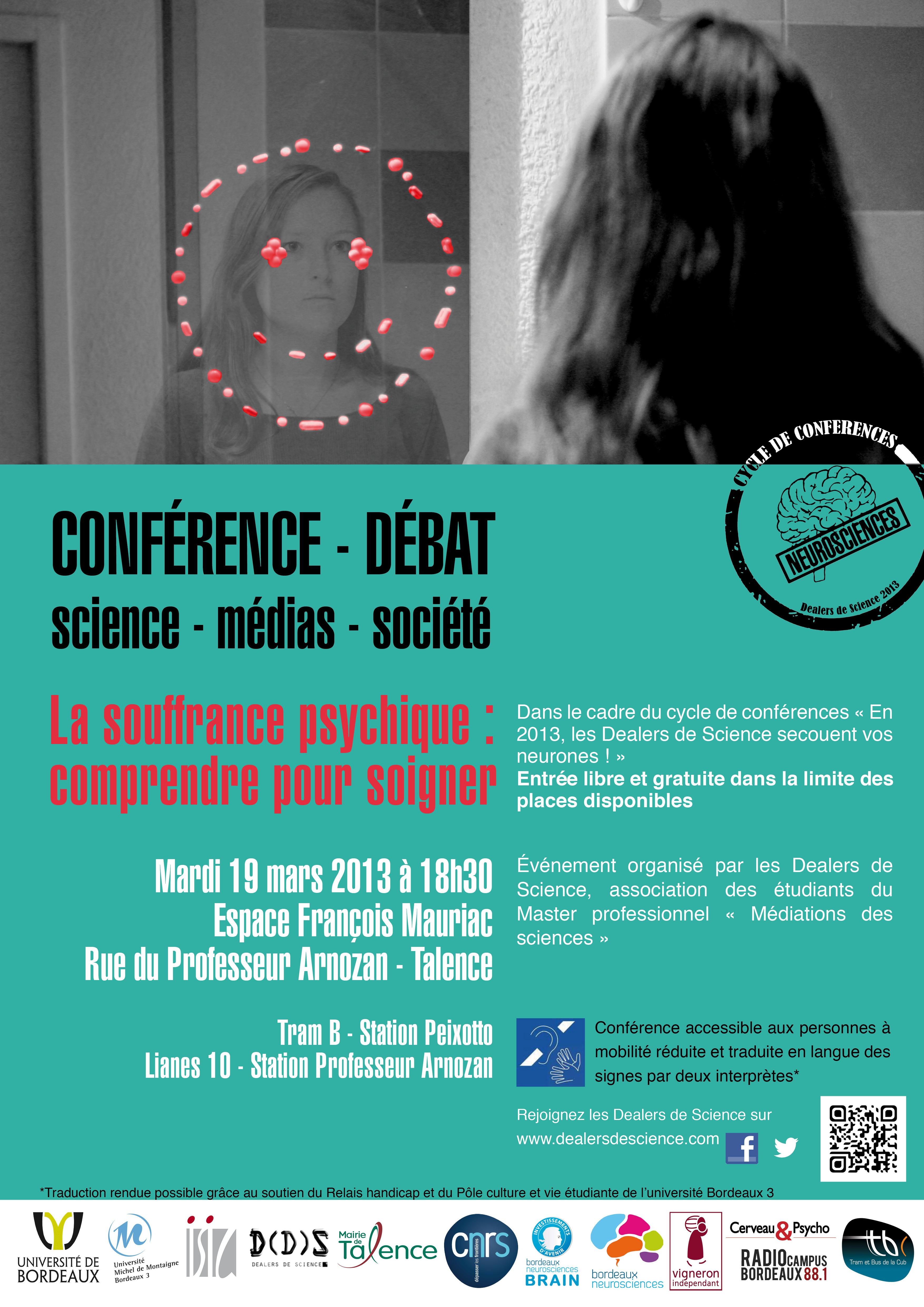 Conférence-débat « La souffrance psychique   comprendre pour soigner » e82a941f565